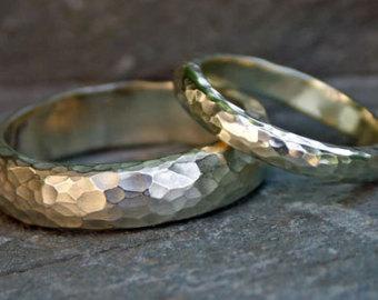 Textured Wedding Rings 3